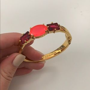Kate Spade Three Jewel Latch Shut Bangle